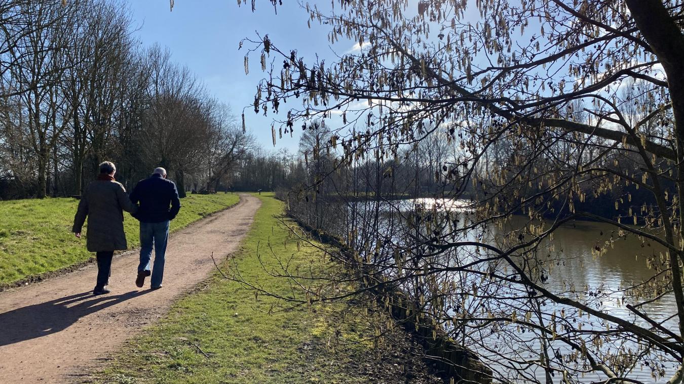 Plus qu'une ZEC, l'étang des 4 Fils Aymon à Méteren est devenu le spot adoré des promeneurs et joggeurs.