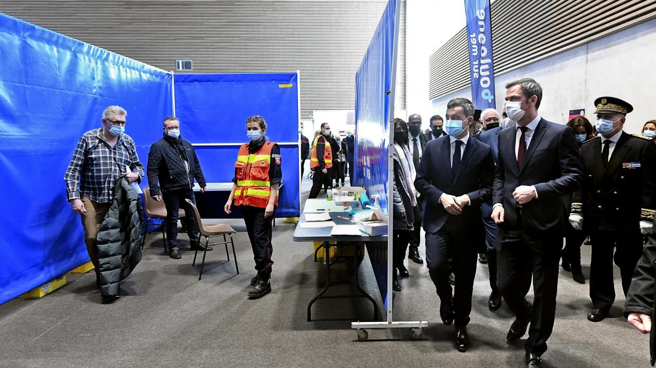 Boulogne: le vaccinodrome fait son retour ce week-end au Palais des sports de Damrémont