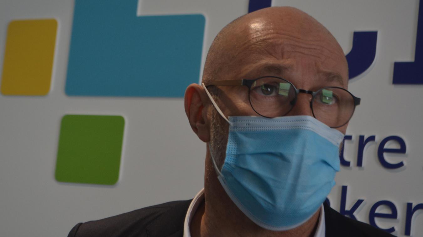 Dunkerque : à la rencontre d'Yves Marlier, nouveau directeur de l'hôpital
