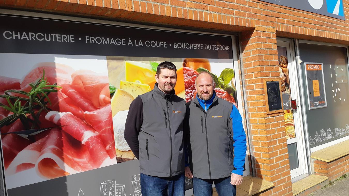 Thierry Vernier et Laurent Pehourticq accueilleront les clients dès le mercredi 17 mars.