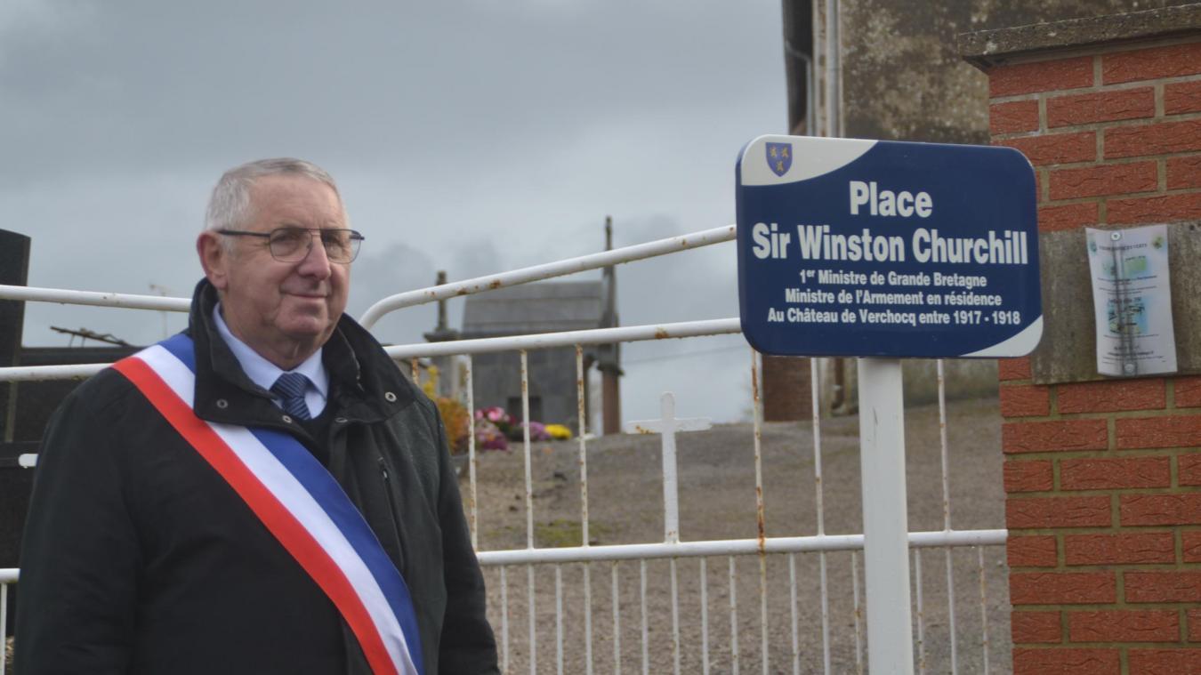 Le 11 novembre 2019, Josse Nempont avait inauguré la place Winston Churchill.