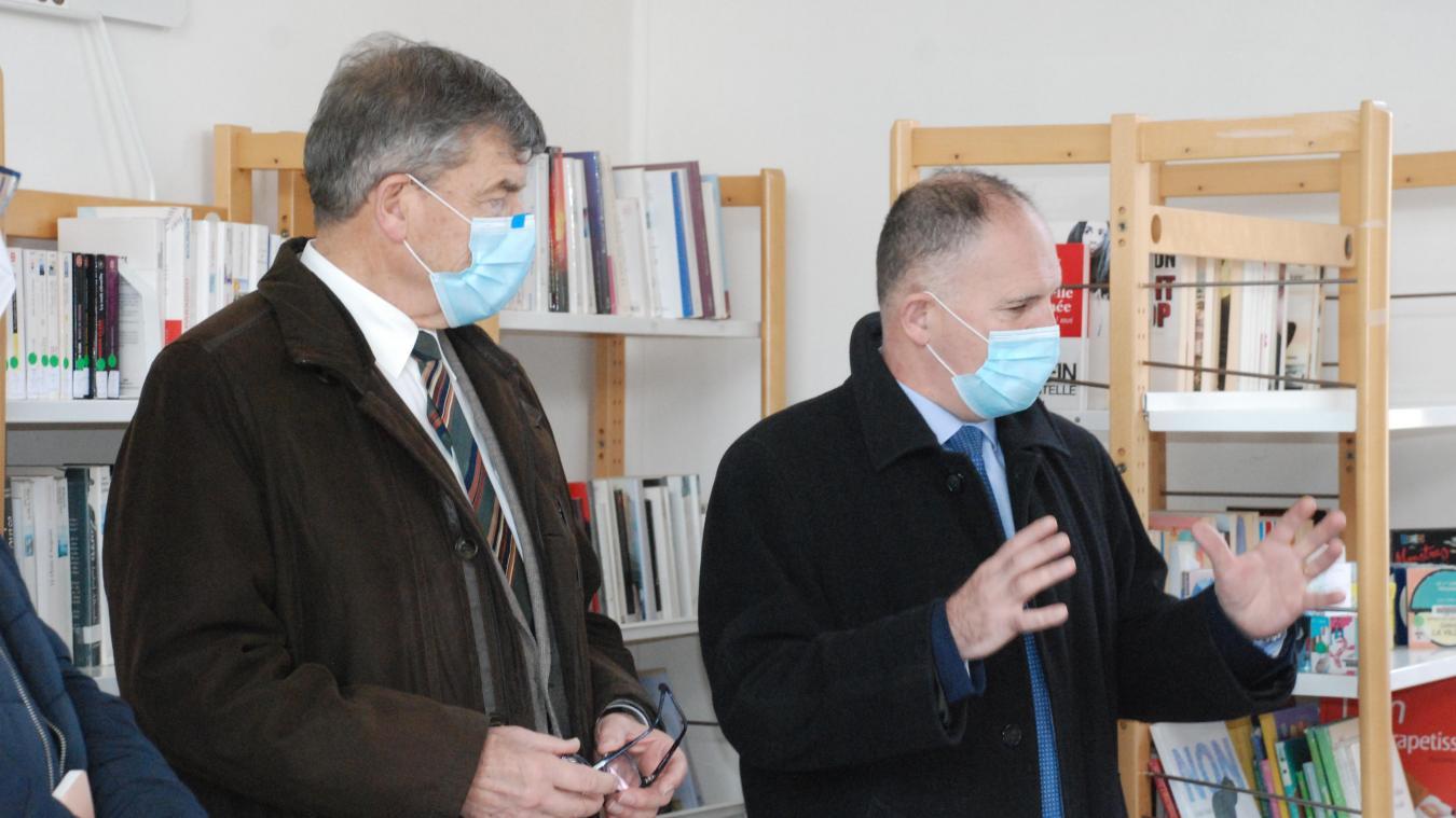 Louis Le Franc, préfet du Pas-de-Calais, a insisté sur l'intérêt de la vaccination.