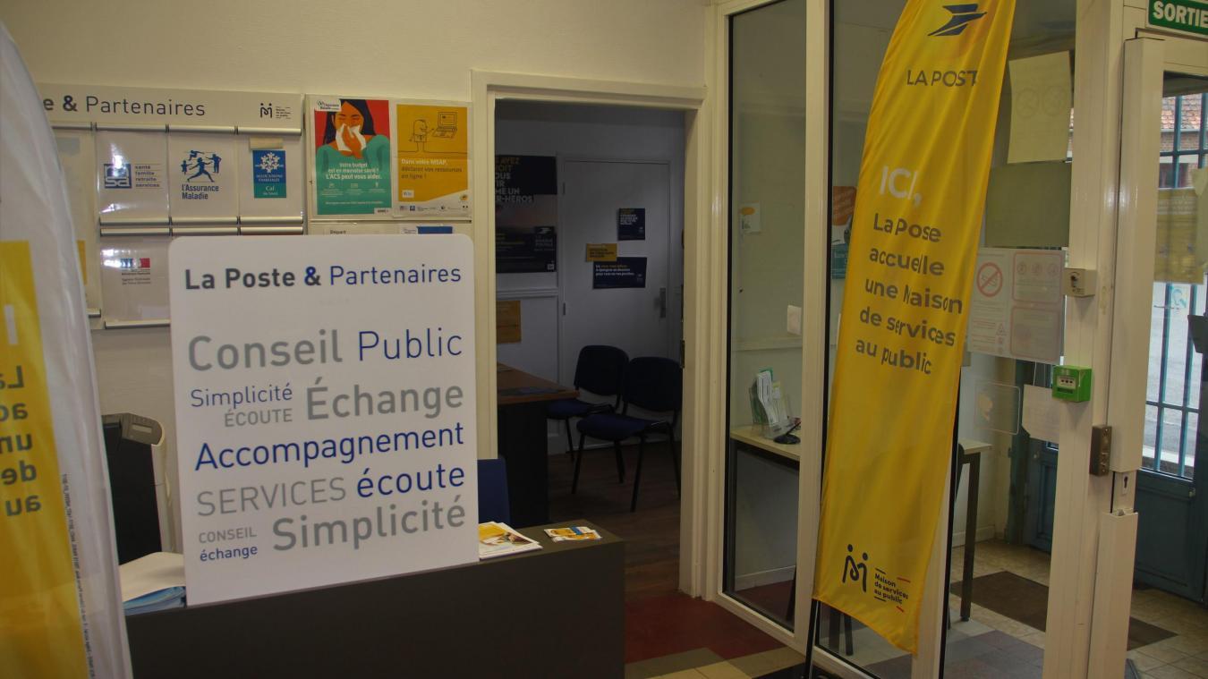 La Maison des services au public devient espace France Services. Réouverture de La Poste le 18 mai à 14 heures.