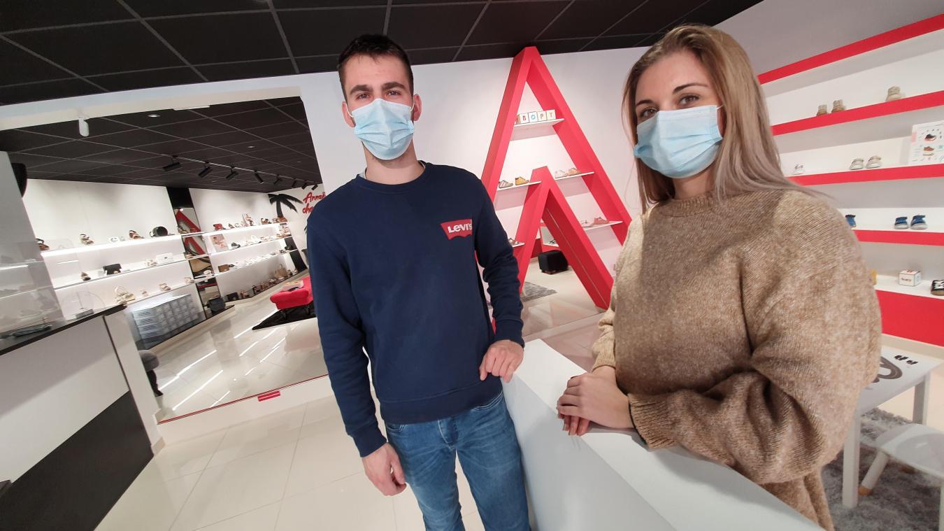 Annaëlle Dupuis et Mathieu Mille sont les derniers à avoir ouvert leur commerce en plein centre de Bruay.