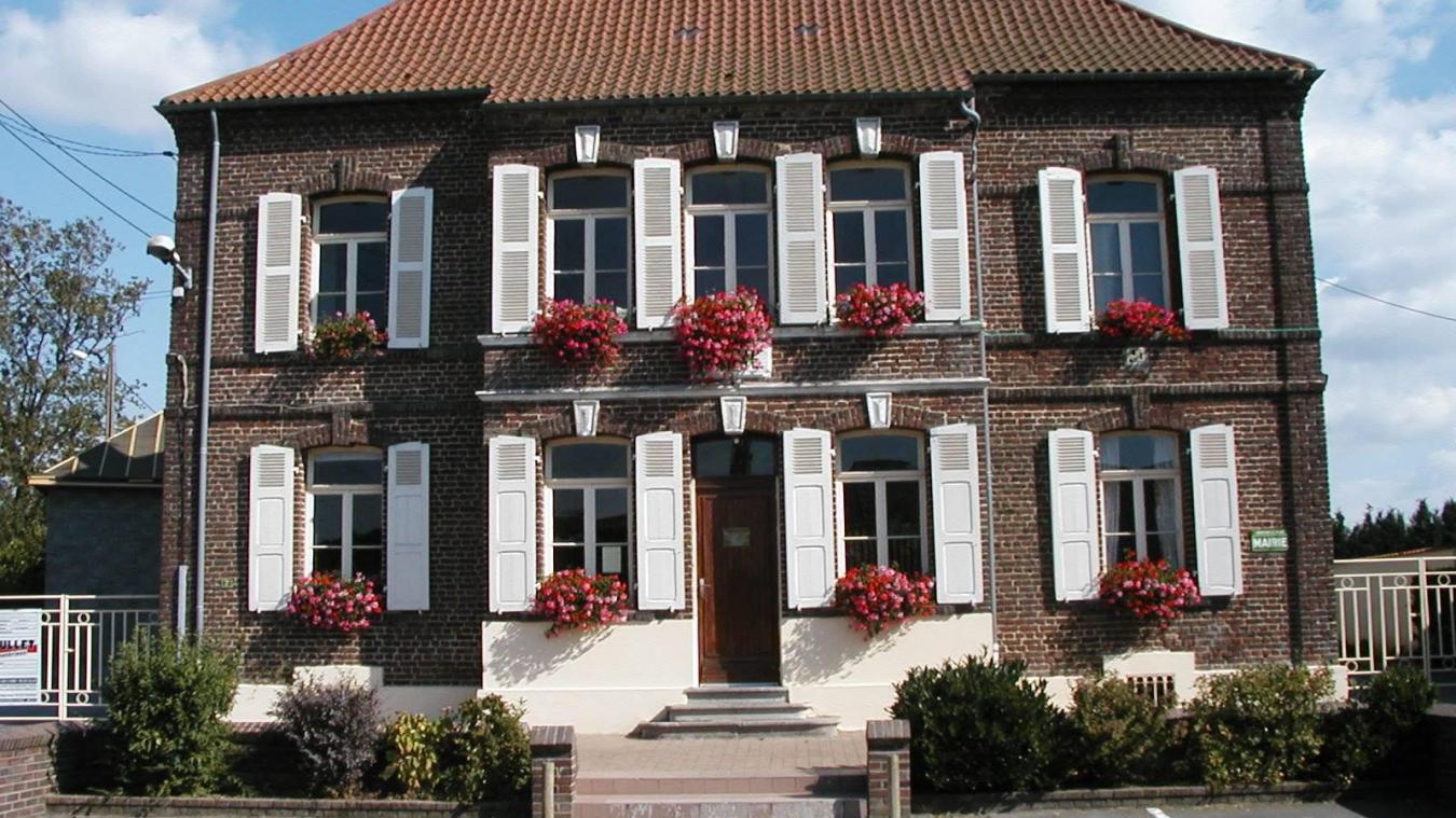 La mairie de Landrethun-les-Ardres a fait partie des collectivités impactées par l'incendie.