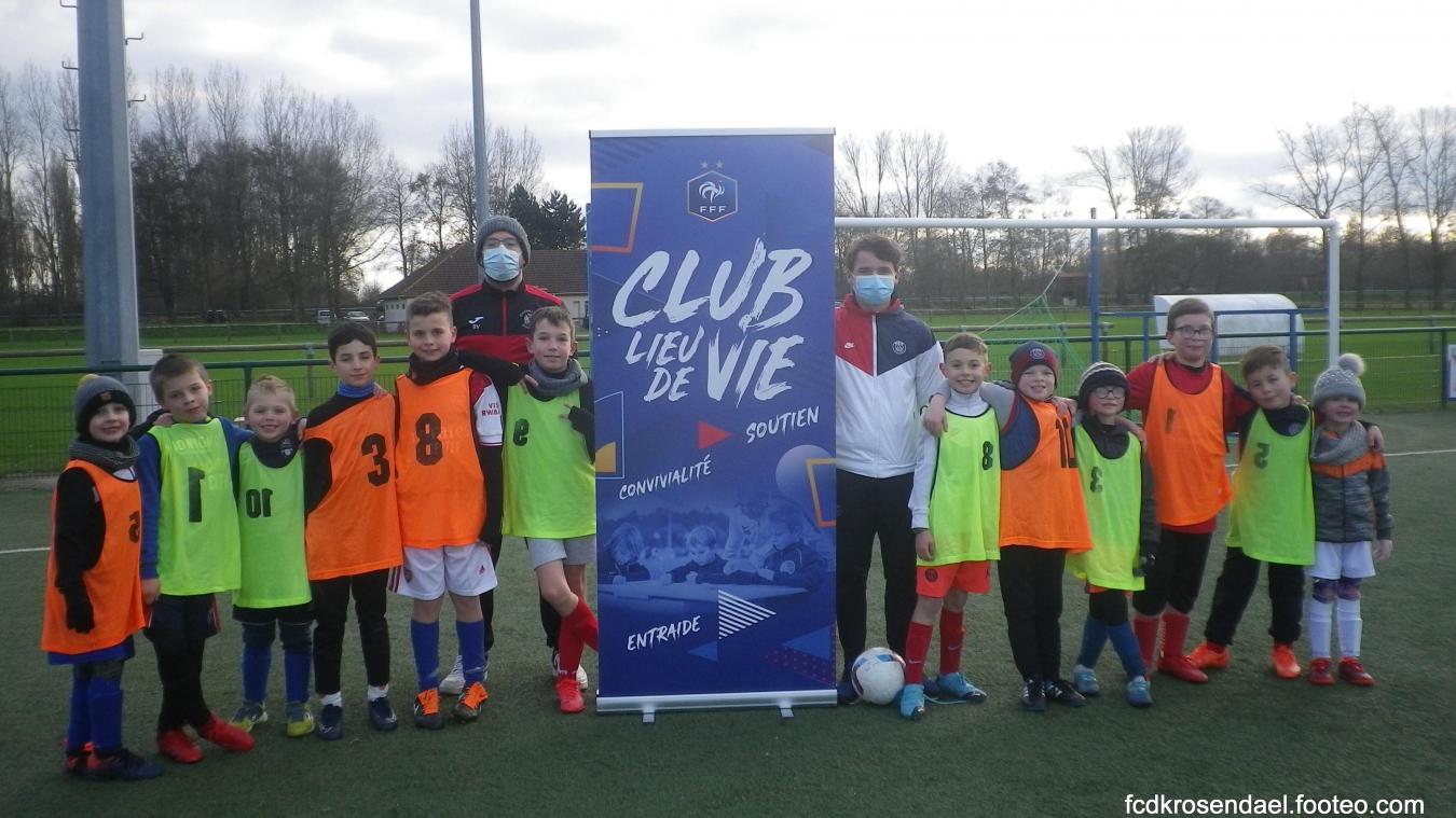 La mention «club lieu de vie» permet au club de proposer de nombreuses activités.