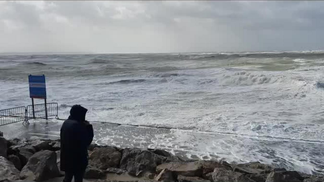 Coup de vent sur la côte d'Opale