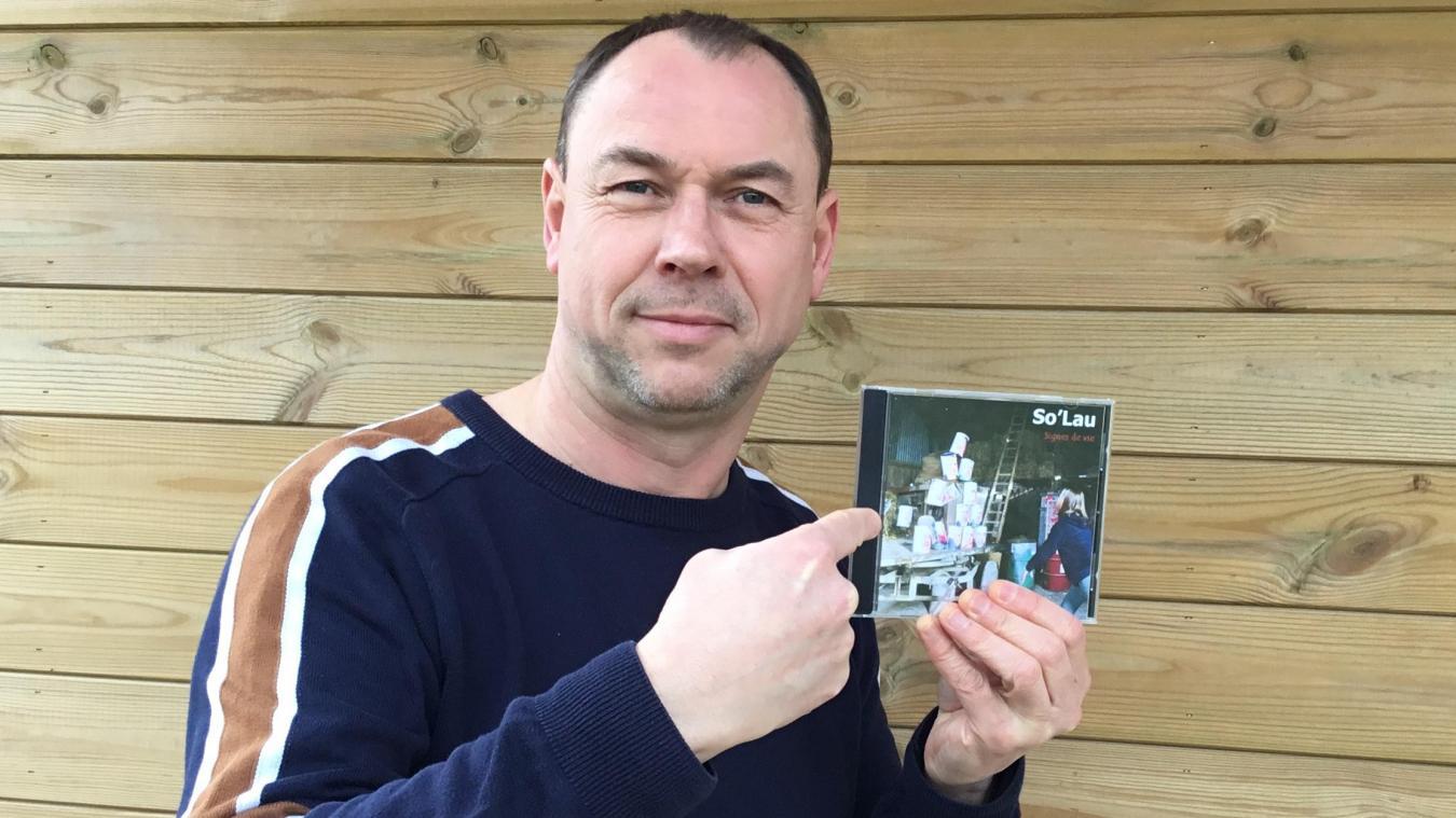 Laurent Lemaitre, alias So'Lau, a créé ses chansons de A à Z.