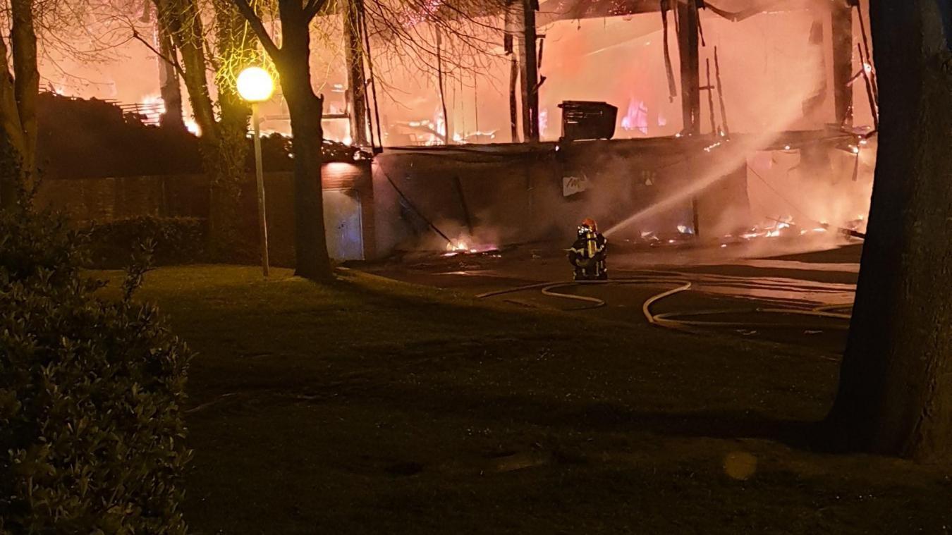 Un feu de poubelle s'était propagé jusqu'au gymnase en avril 2019. (Photo d'archives)