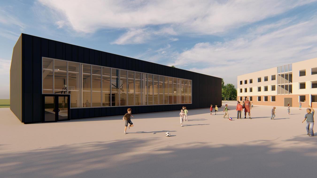 Nouveau bâtiment, nouvelle salle de sport, nouvelle organisation. Le groupe scolaire poursuit sa mutation.
