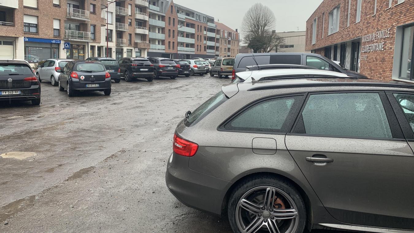 Le parking, en mauvais état, sera totalement rénové.