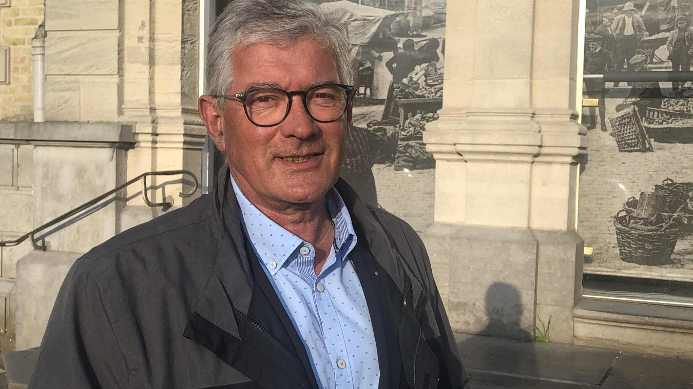 Bruno Cousein, maire de Berck.