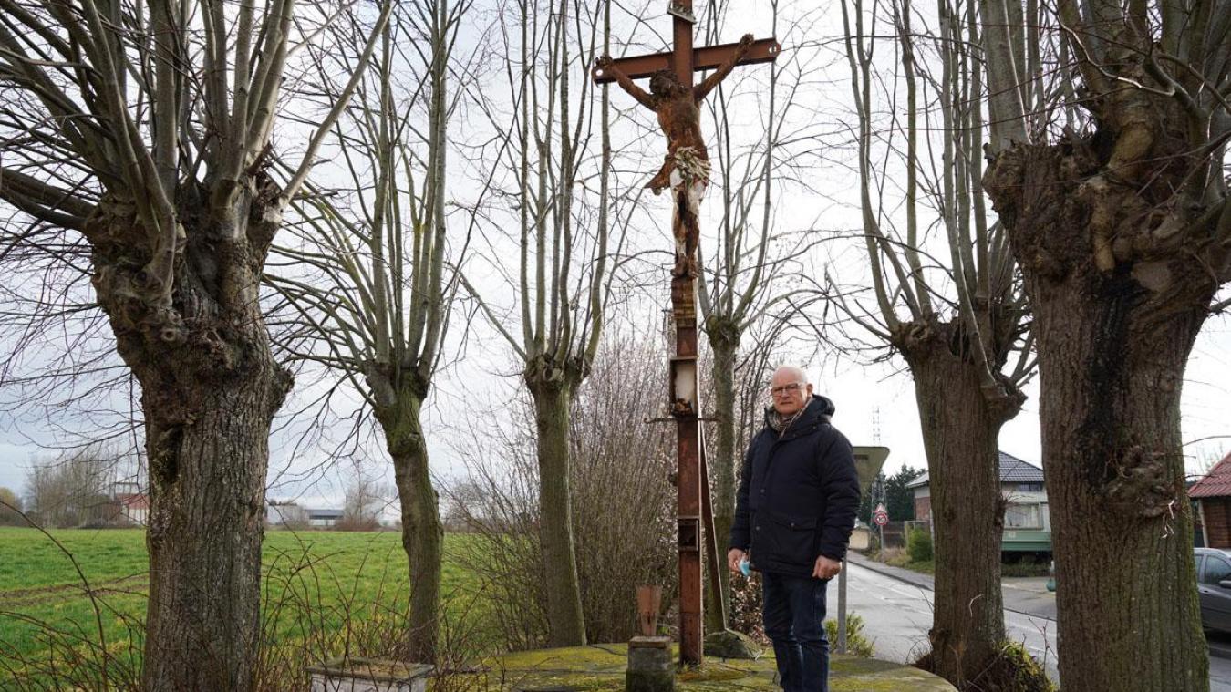 Le calvaire de la Belle-Croix sera rénové par la commune de La Gorgue.