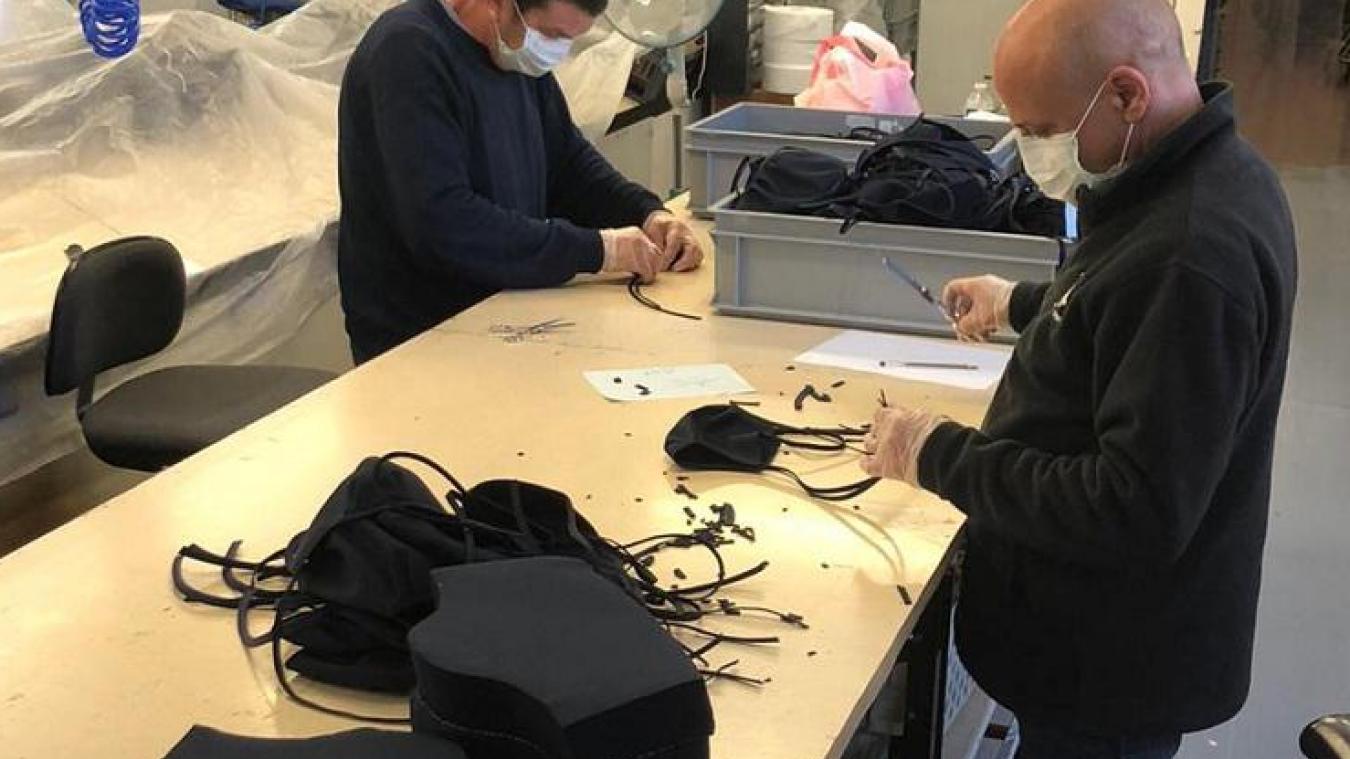 La ville de Calais a acheté des masques en tissu à la société Balsan.