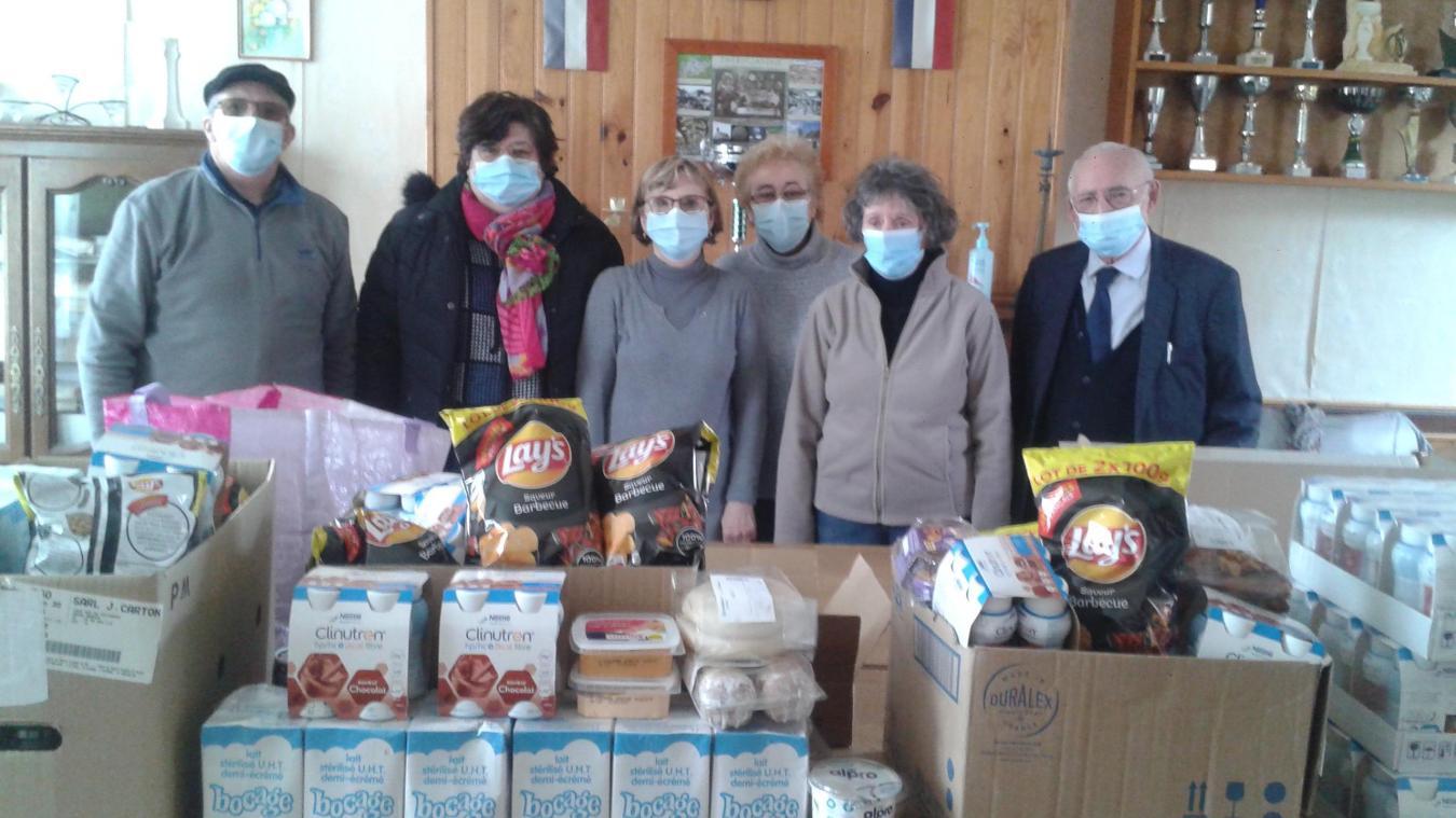 Vendredi dernier, la première d'une nouvelle distribution de la Banque alimentaire.