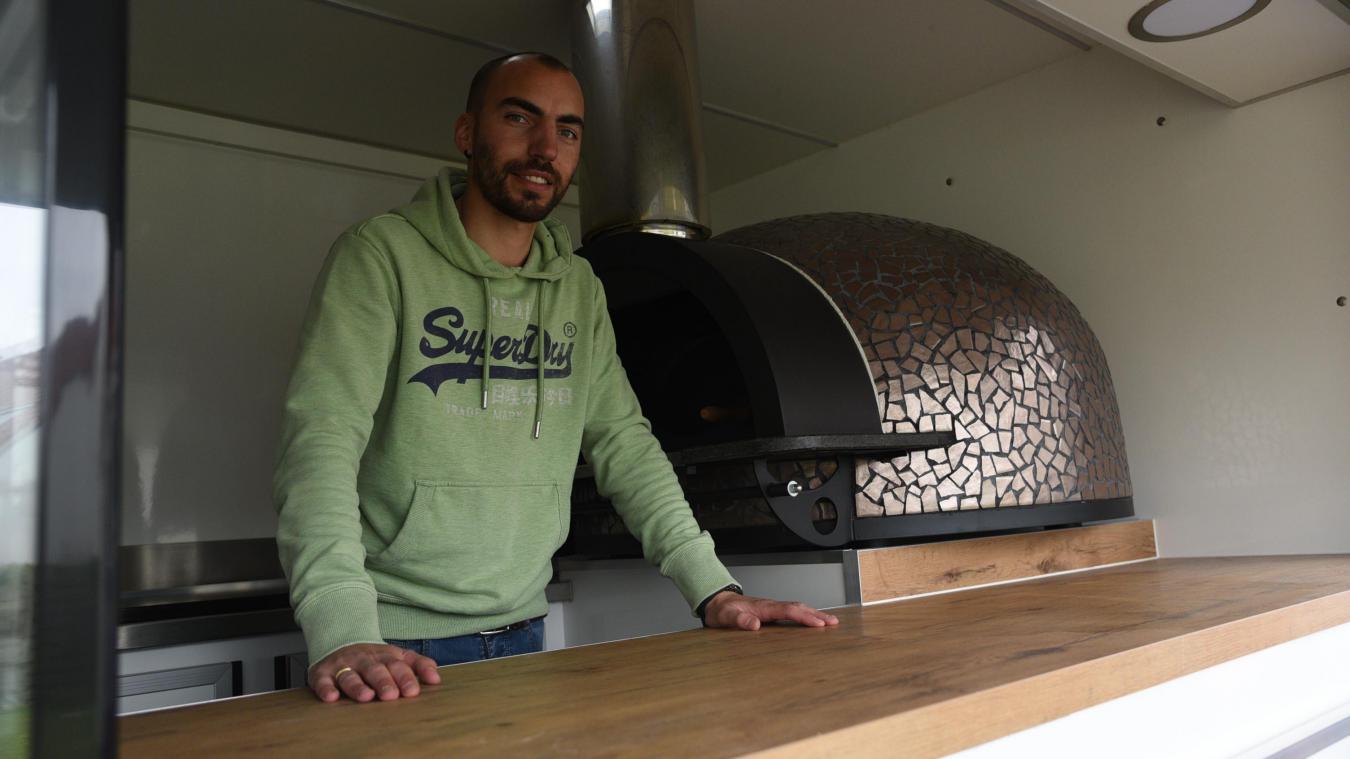Adrien Thierry a élaboré onze sortes de pizza.