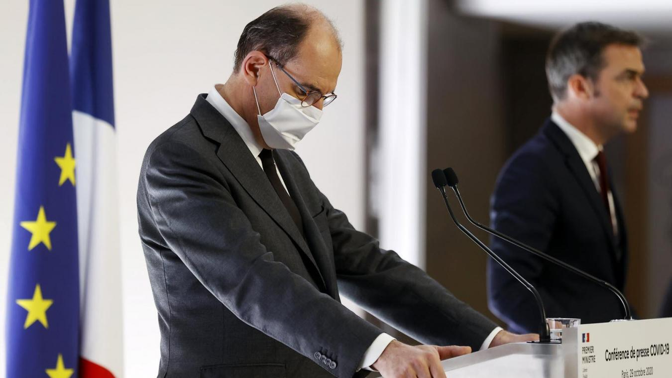 Jean Castex annonce un confinement des Hauts-de-France pour 4 semaines avec un couvre-feu à 19 heures