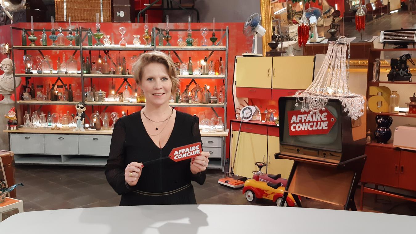 Céline Vercoutre, l'Airoise qui sera lundi 22 mars, à l'antenne d'Affaire conclue sur France 2.