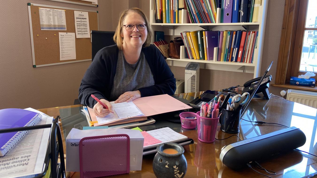 Céline Mura est devenue la nouvelle directrice générale des services de Merville le 1 er  mars.