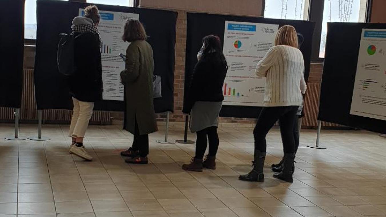 Les habitants ont pu voir le résultat de l'étude mercredi 10 mars.