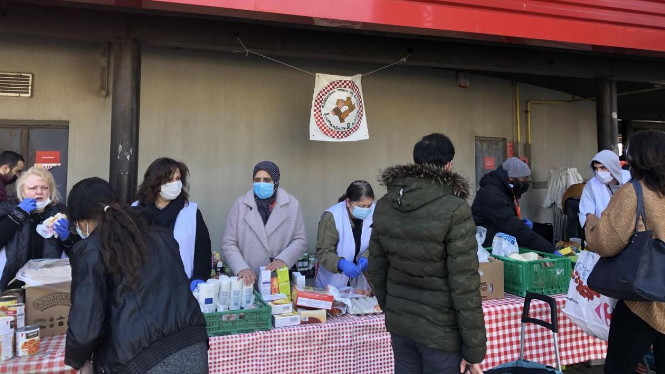 Dunkerque : le dimanche 7 mars, environ 357 étudiants ont pu bénéficier d'un colis alimentaire grâce à l'association Main dans la main.