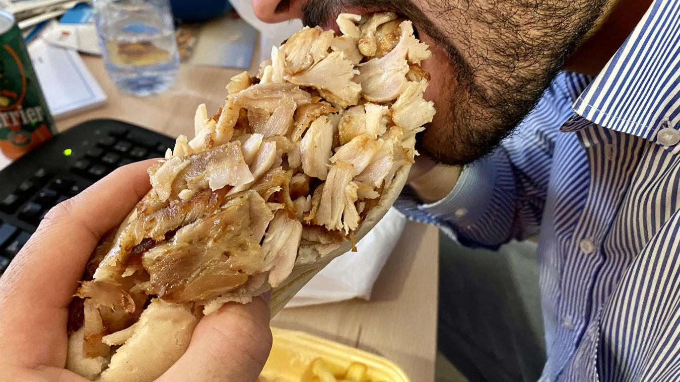Les kebabs lensois sont absents du classement des meilleurs «grecs» du pays.