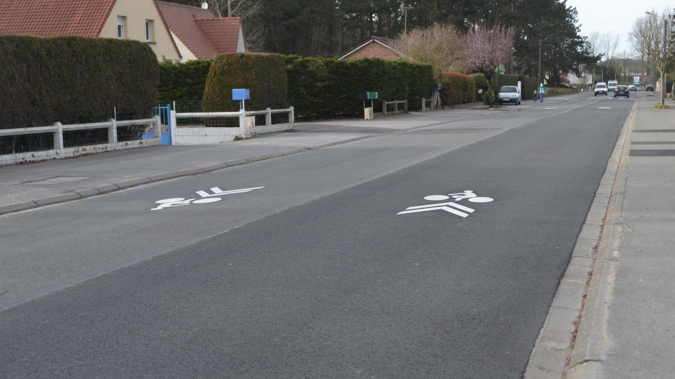 L'apparition de cette signalisation horizontale a suscité beaucoup de questions.
