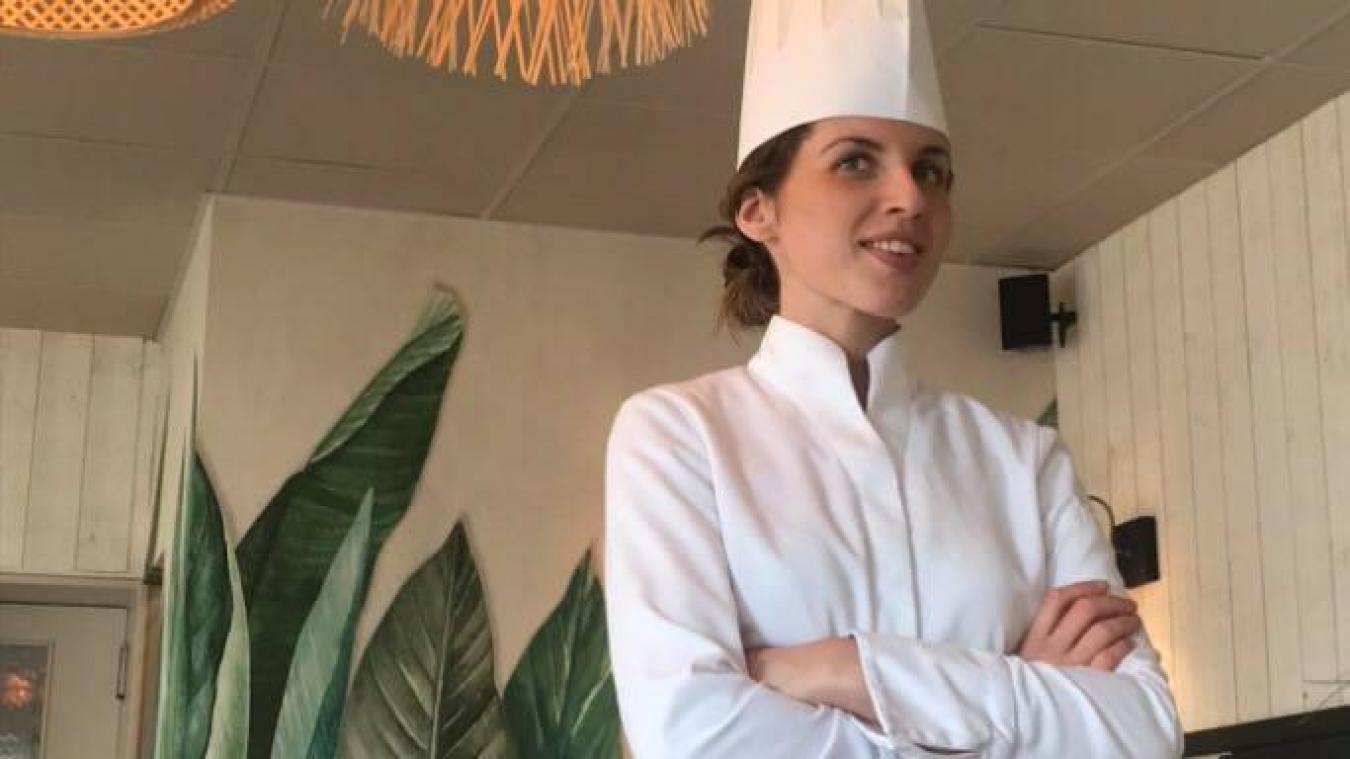 Solène Elliott a été formée chez Benjamin Delpierre, à Wimereux, et travaille désormais dans les cuisines du restaurant familial à Audresselles.