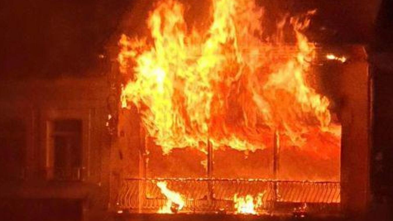 Un incendie en plein centre d'Audruicq (Actualisé)