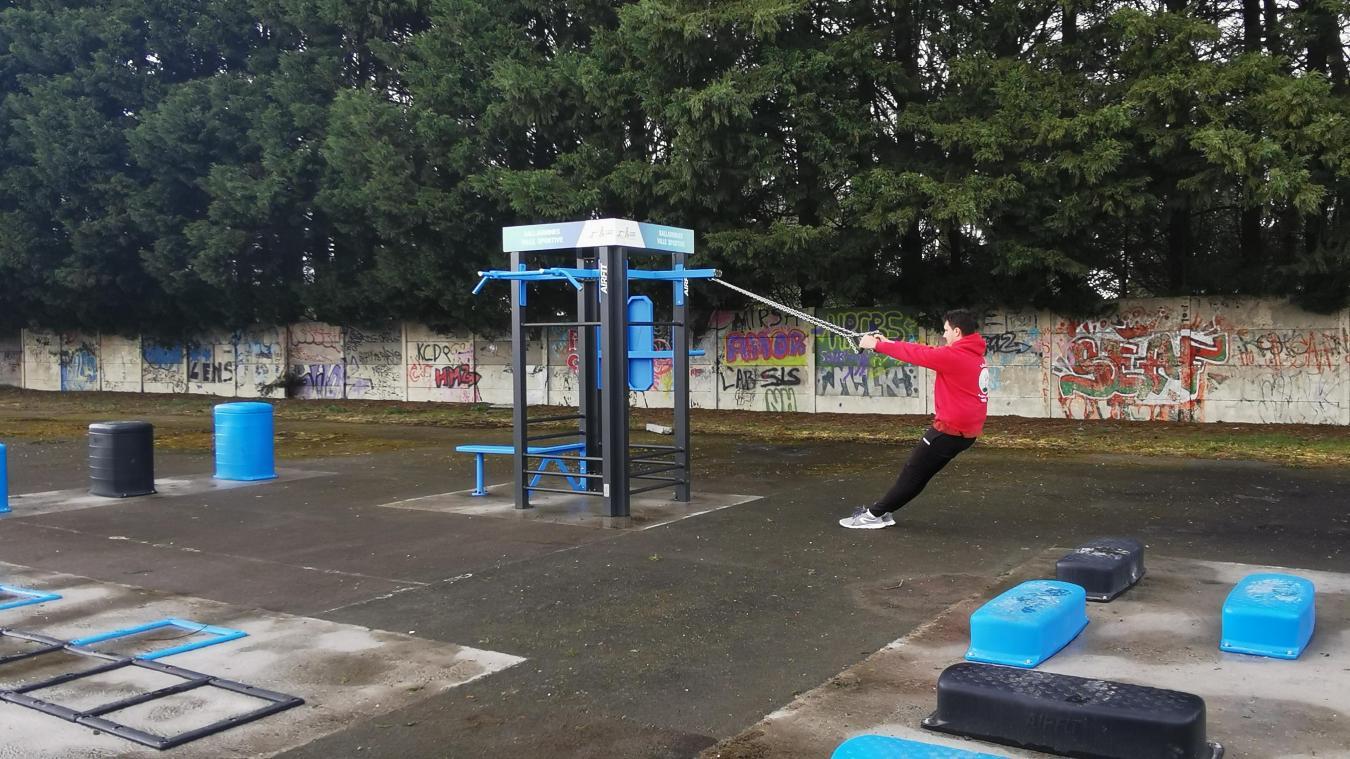 De nombreuses installations sportives sont en accès libre.