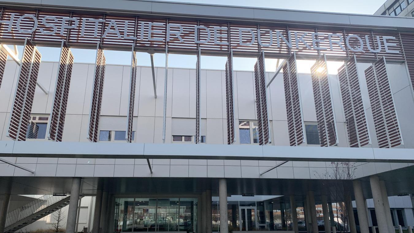 Le Centre hospitalier de Dunkerque a sérieusement diminué son nombre de transferts. Seulement quatre sur les trois derniers jours.