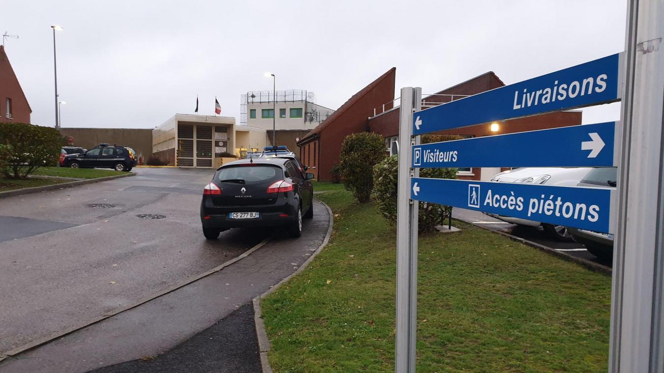 Les faits ont eu lieu lundi 22 mars au centre de détention de Bapaume peu après 17h.