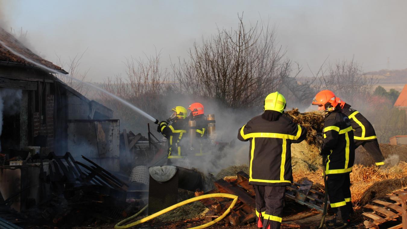 Selles : un incendie détruit entièrement une fermette