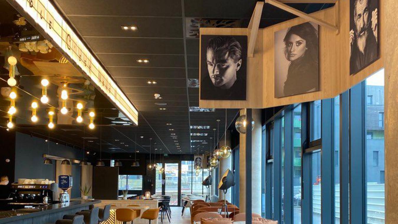 Le thème de l'hôtel Ibis Style est le cinéma.