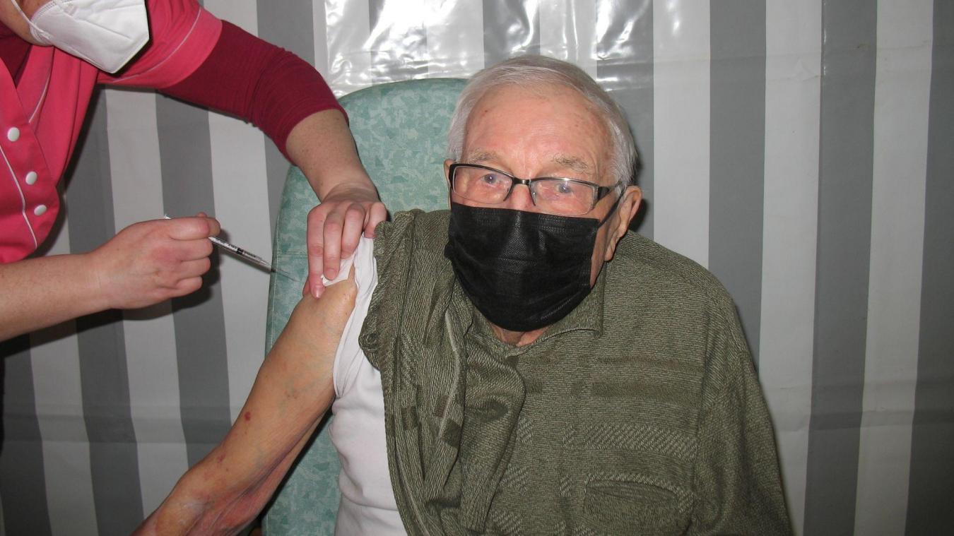 François Royer s'est fait vacciner contre la Covid-19, le 7 mars dernier. Il recevra sa deuxième injection le 7 avril.