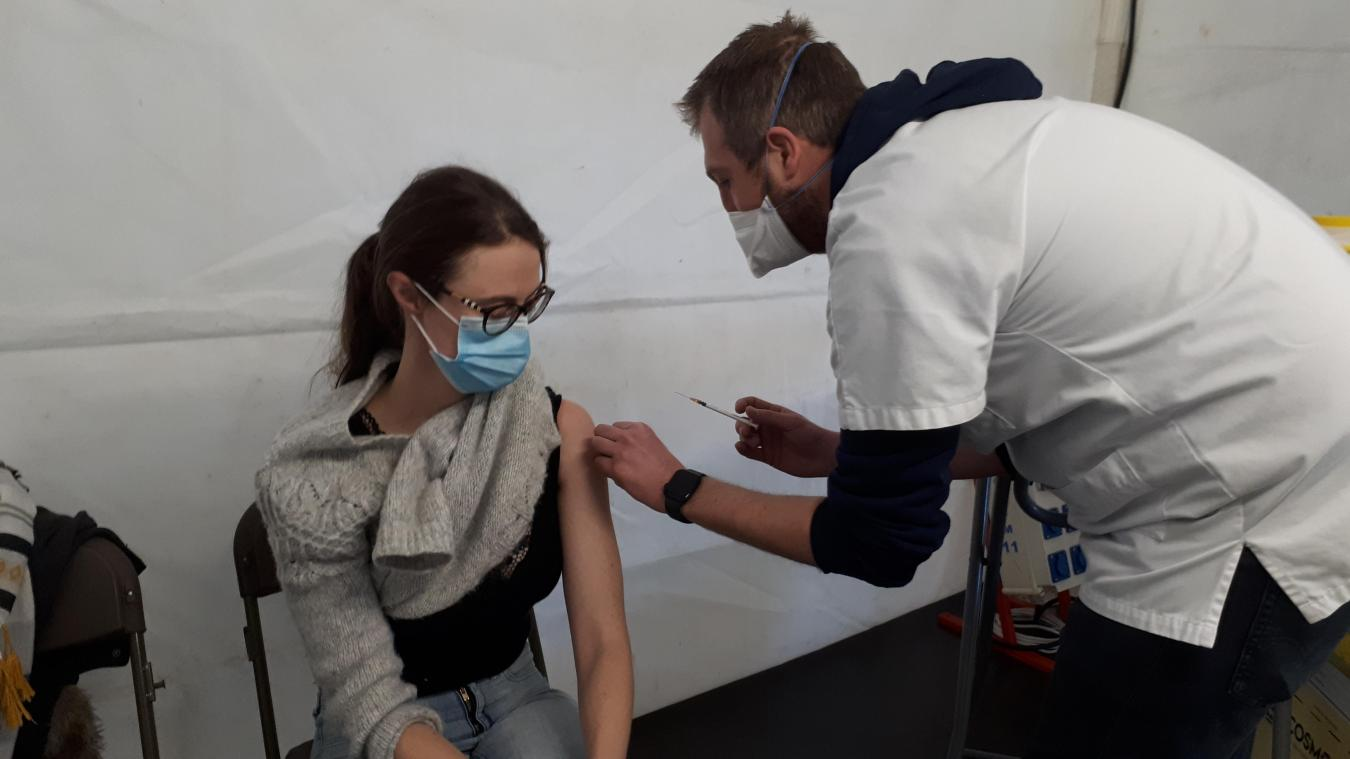 2 995 personnes ont pu être vaccinées le week-end dernier au Forum Gambetta.