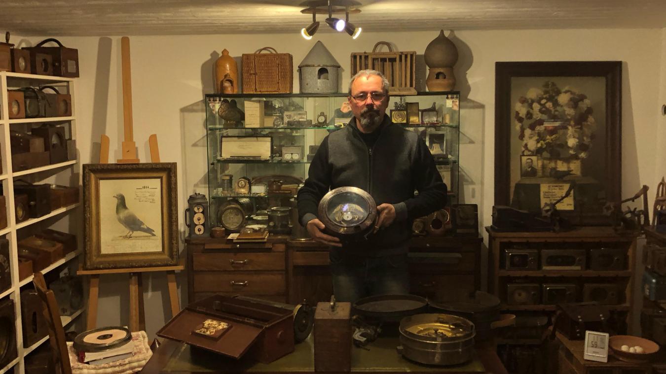 Le colombophile Philippe Crespin va ouvrir un musée régional à Auchel