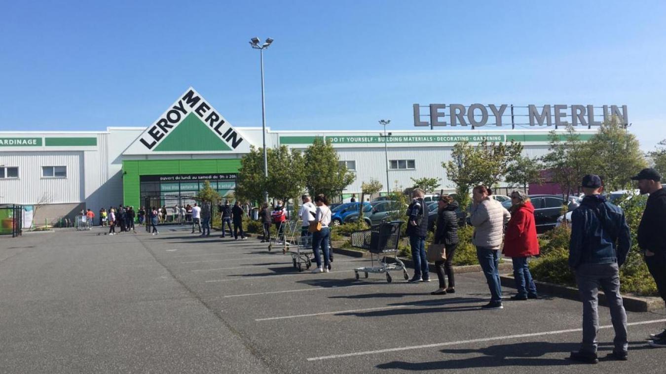Le Leroy Merlin de Saint-Martin-Boulogne est également soumis à l'arrêté préféctoral. Sa fermeture a été annoncée ce vendredi 26 mars. (Photo d'archives)