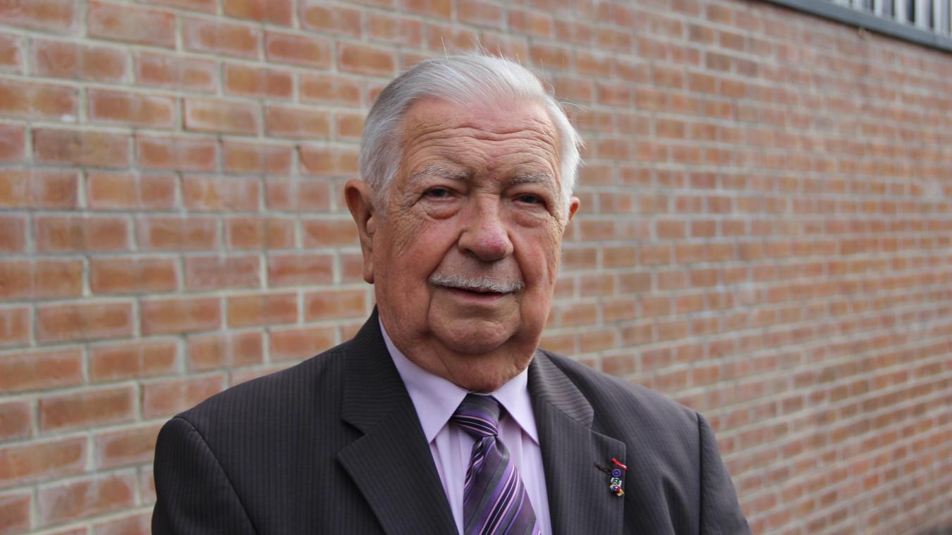 André Delcourt était arrivé à Calonne-Ricouart en 1963 en tant qu'instituteur.