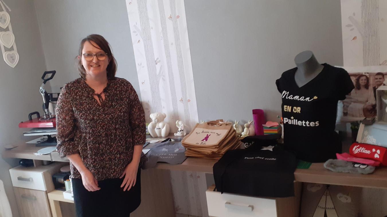 Fanny Blaret propose une multitude d'objets personnalisés, qu'elle fabrique elle-même.