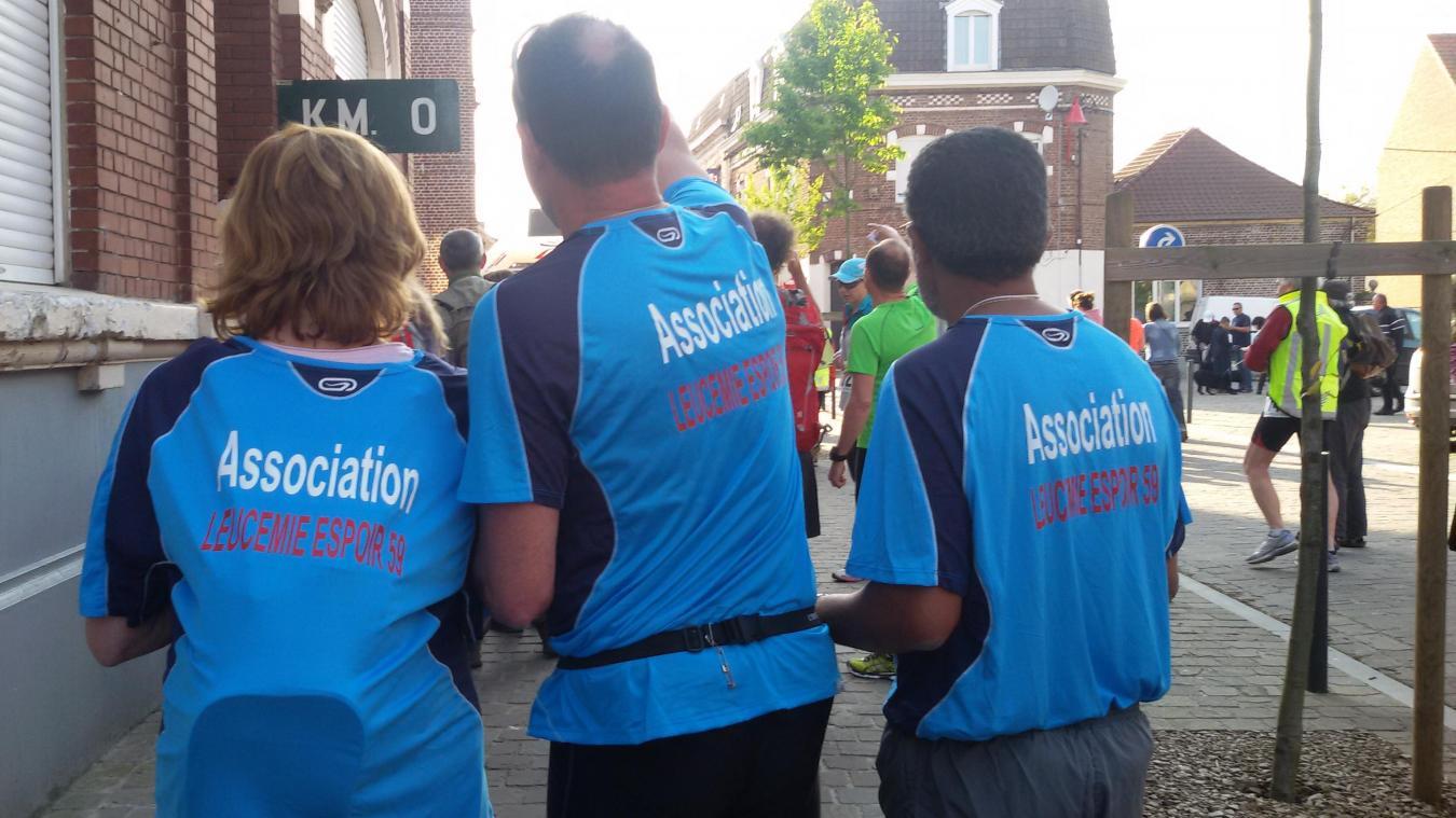 Les membres sont déterminés à courir pour la bonne cause les 5 et 6 juin 2021.