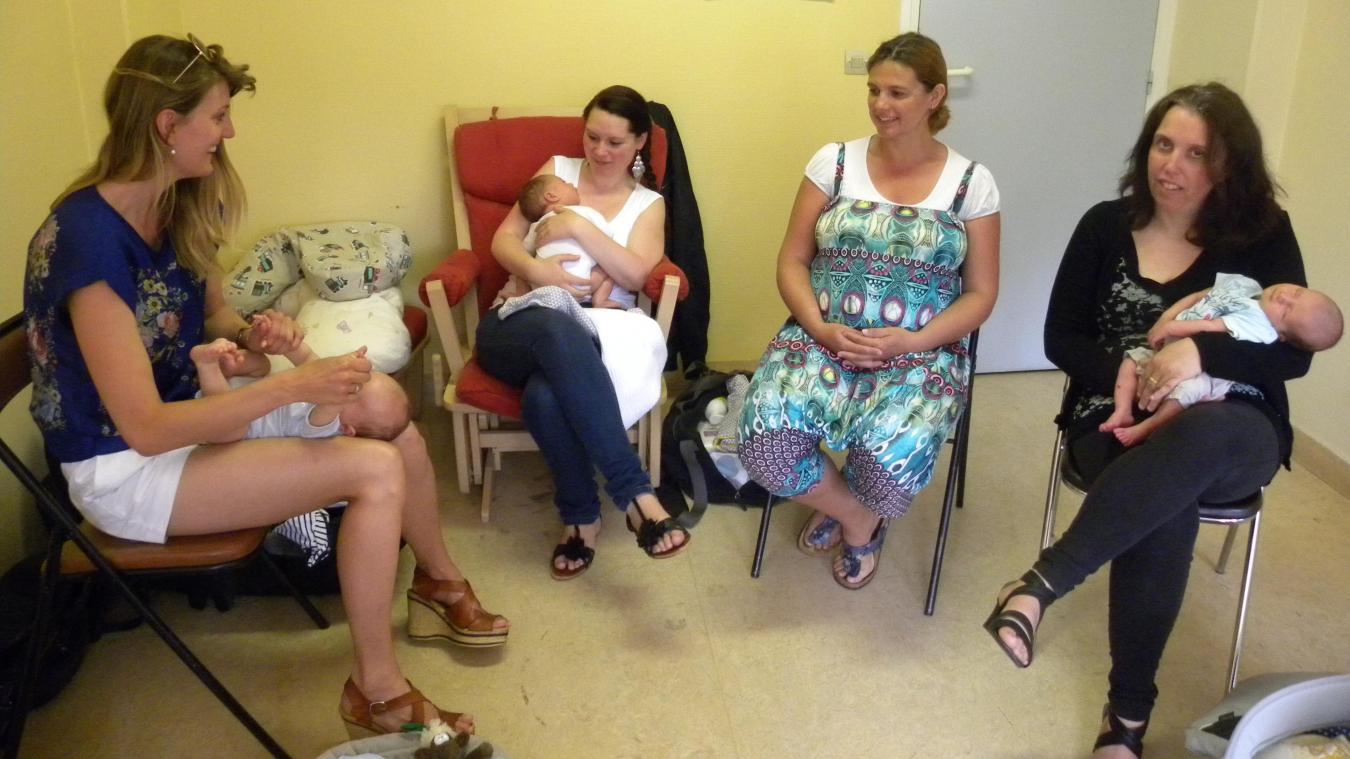 À Dunkerque, Materlait souhaite que de nouveaux espaces d'accueil pour les bébés et les mamans voient le jour.