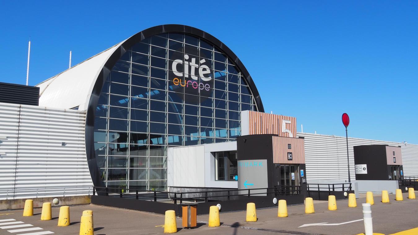 Les allées de Cité Europe sont fermées au public depuis plusieurs semaines.