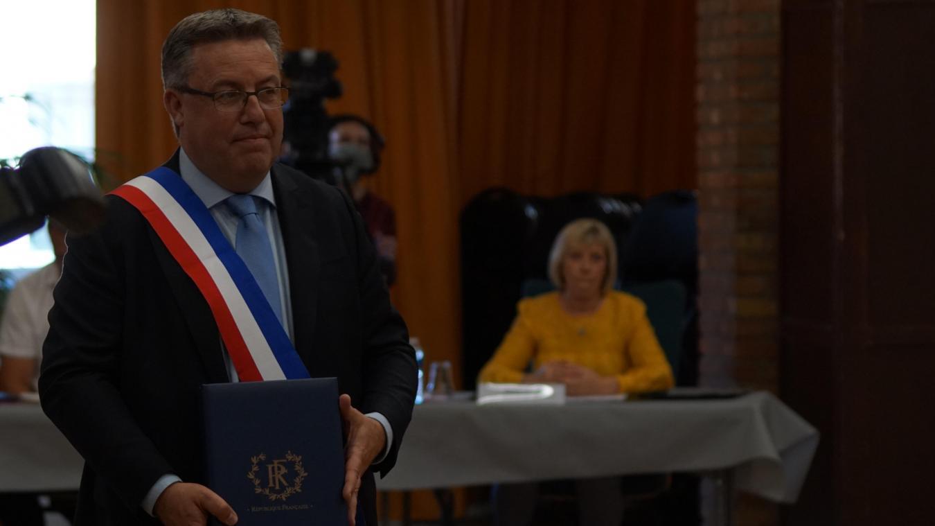 Martial Beyaert, l'actuel maire de Grande-Synthe, a succédé à Damien Carême après avoir été son premier adjoint.