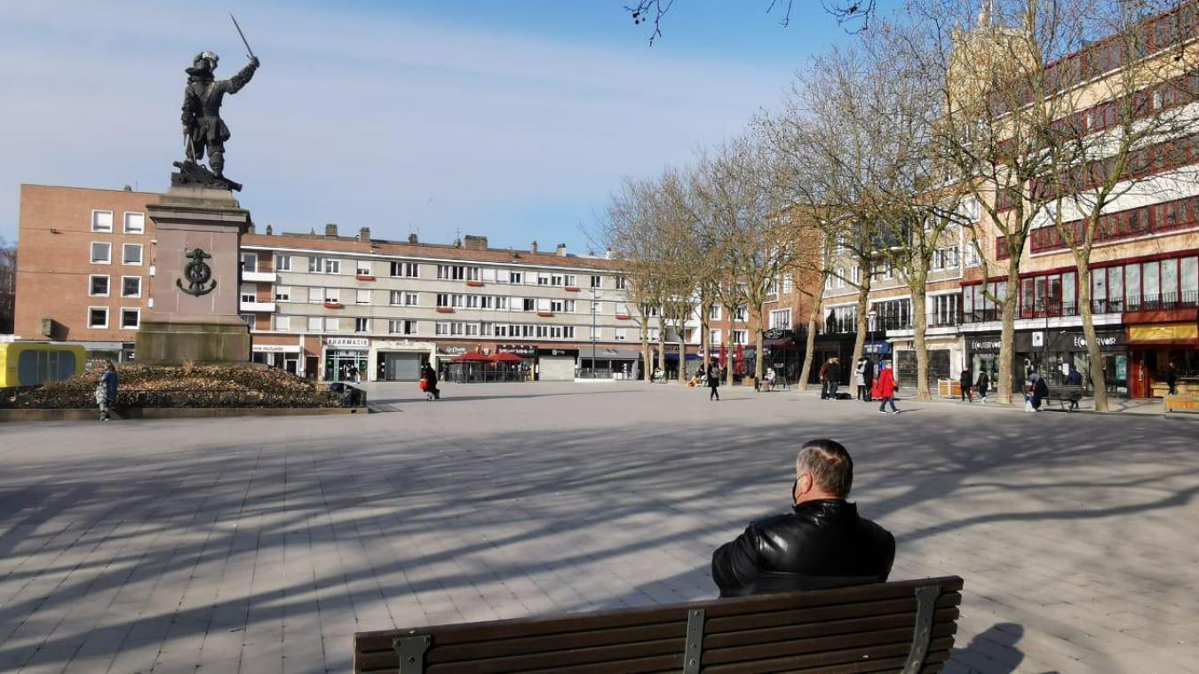 Les commerçants dunkerquois sédentaires vont pouvoir vendre leurs marchandises sur le trottoir, à compter de ce samedi 27 mars.