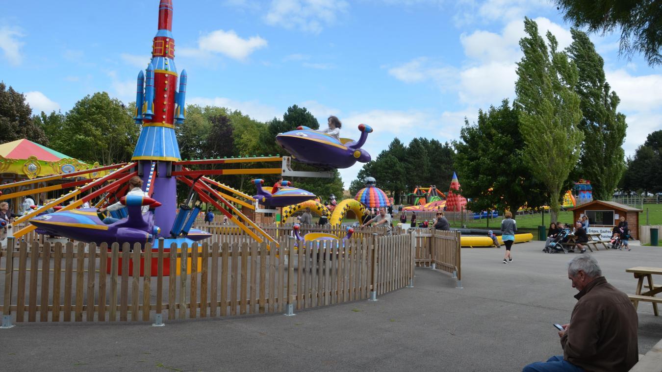 Le parc d'attractions devrait occuper 13 ha d'une parcelle jouxtant le parc d'activités de l'aérodrome.