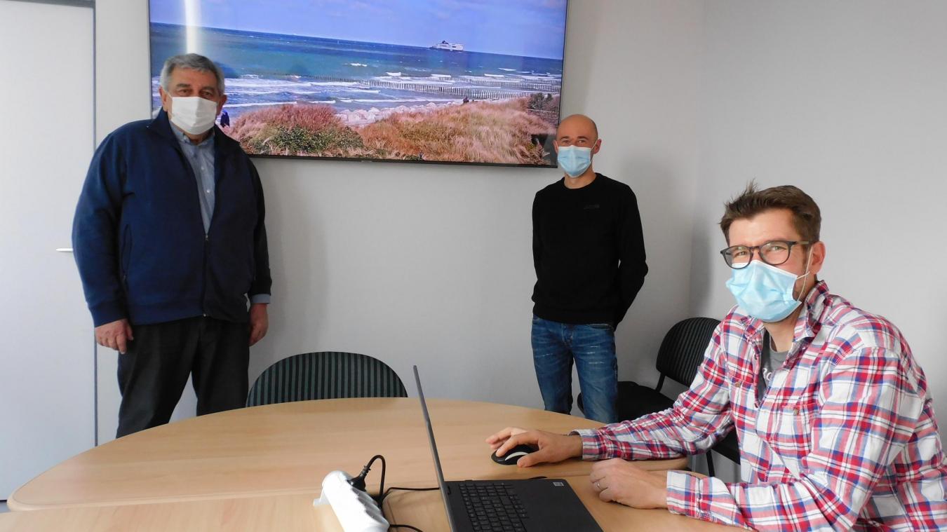 Pascal Dubus, Fabrice Ballart et Olivier Dumon ont dévoilé le projet.