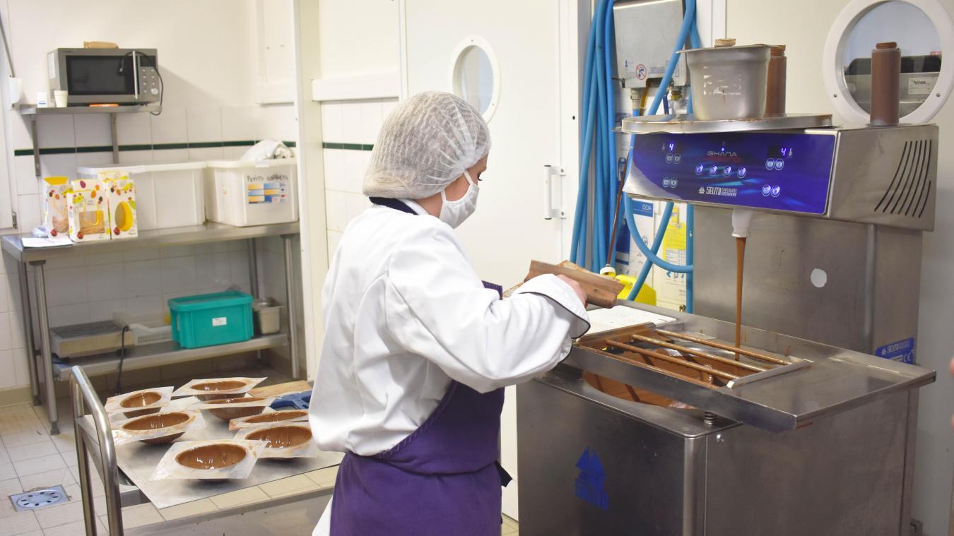 Une dizaine de personnes sont venues se former à l'atelier chocolaterie depuis sa création en 2018.