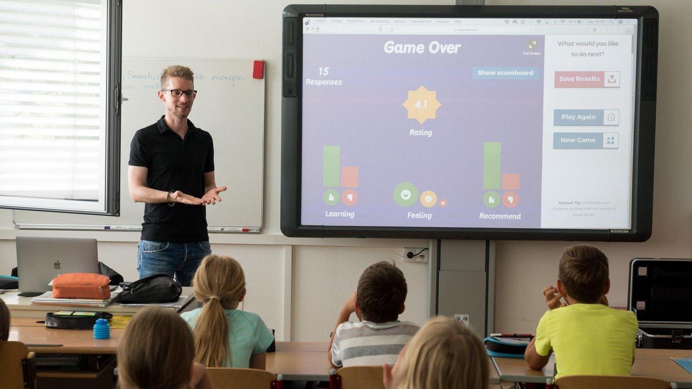 Laventie veut moderniser le numérique à l'école.