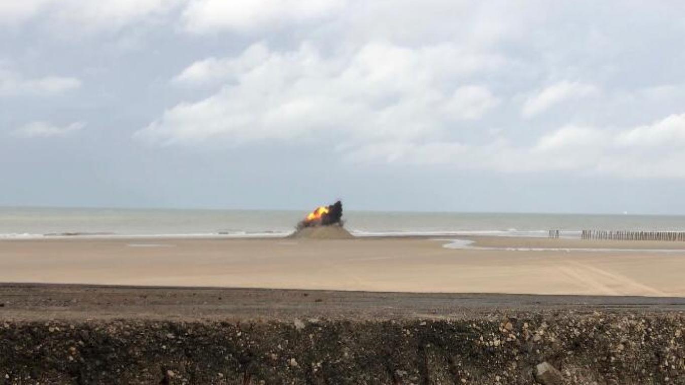 De nouveaux déminages risquent de survenir avant d'entamer de nouveaux travaux pour protéger le cordon dunaire.